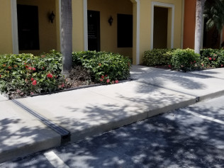 channel drain installation bonita springs fl